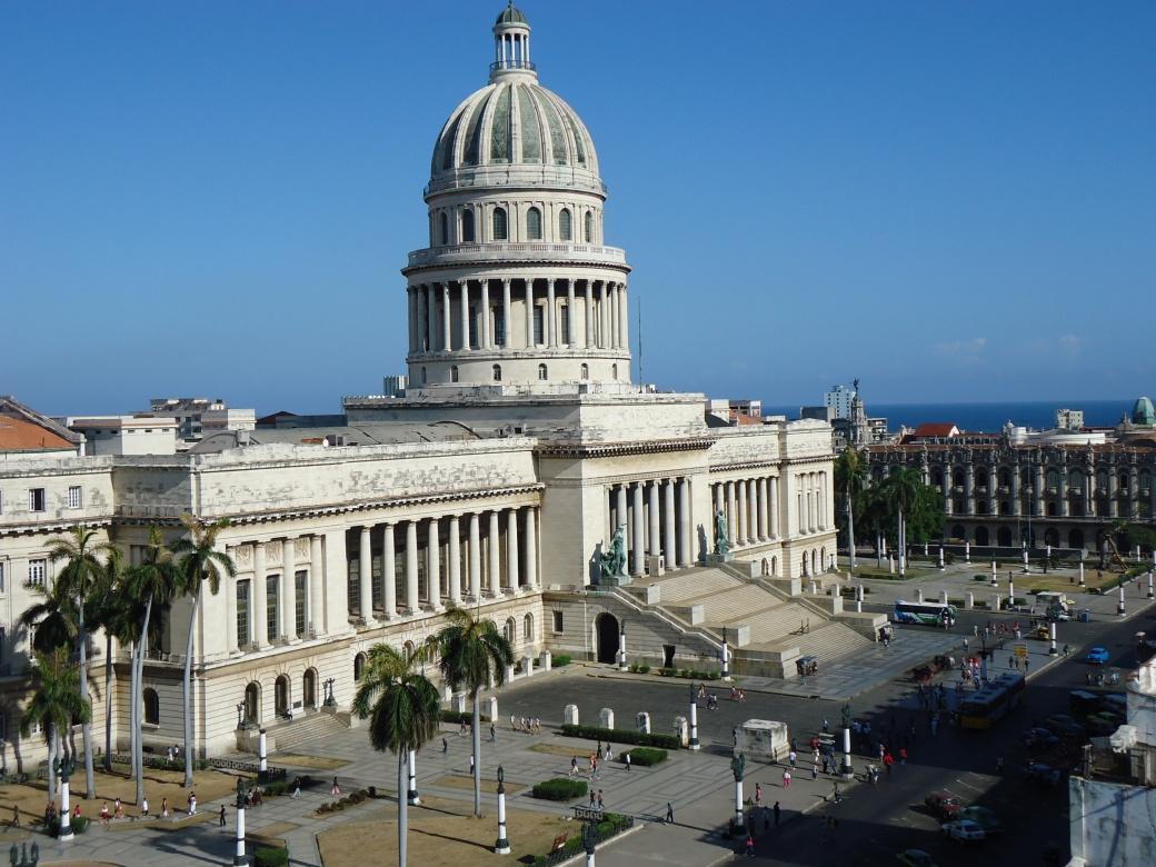 Havana--Capitol from Saratoga