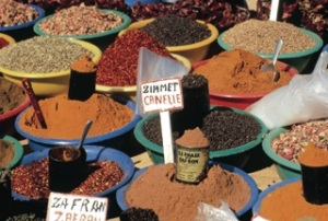 Spice Market in Tunisia