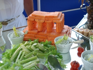 Carrot Parthenon aboard Sea Cloud