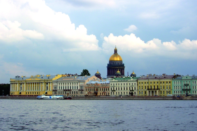 St. Petersburg on the Neva River