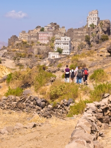 Tourists in Yemen