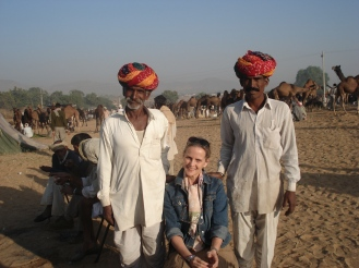 Gloria and drivers in India