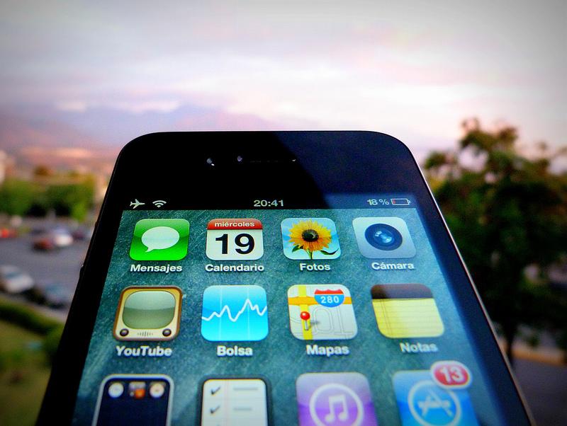 iPhone by Gonzalo Baeza