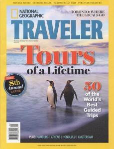 Nat Geo Traveler cover