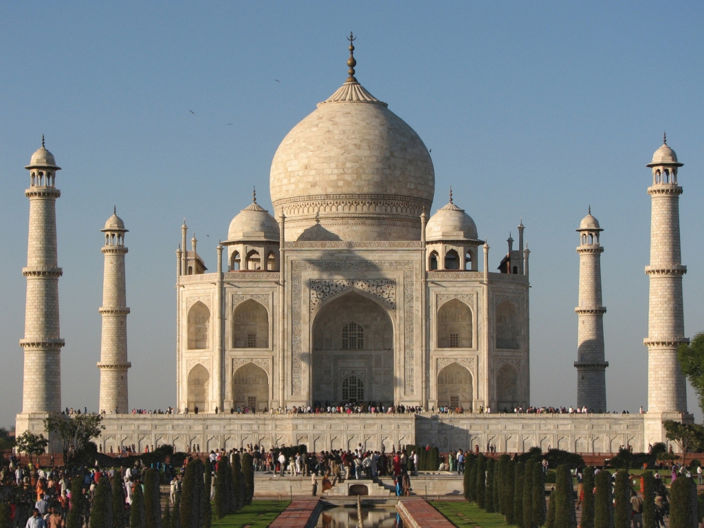 Taj Mahal Daylight