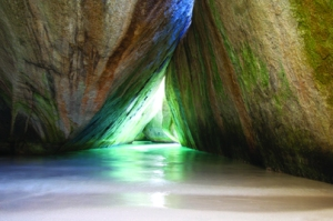 Virgin Gorda pool in cave