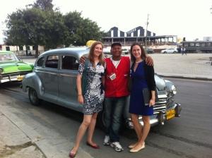 Marisa and Sarah Viera in Cuba