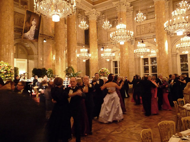 New Year's Ball Dancing by Kate Klorer