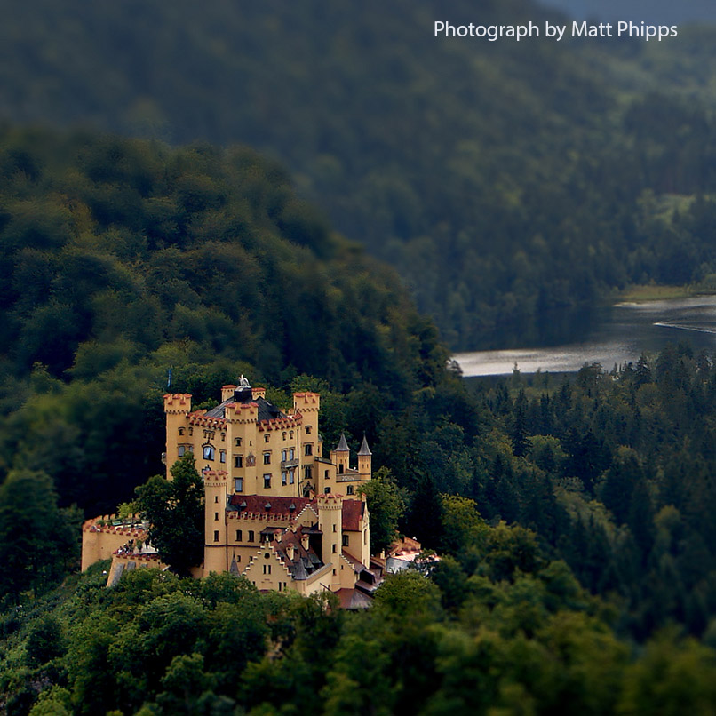 Castle in Germany by Matt Phipps