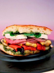 Grilled Vegetable Panini at Nasher in Dallas