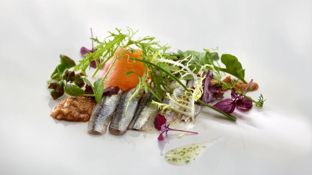 Salad at Bistro Guggenheim Bilbao