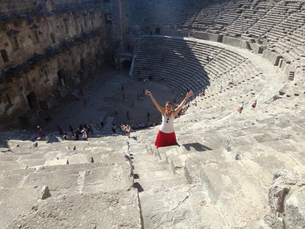 Aspendos Roman Amphitheater near Antalya