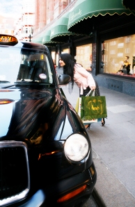 Black Cab in London. Courtesy Visit Britain