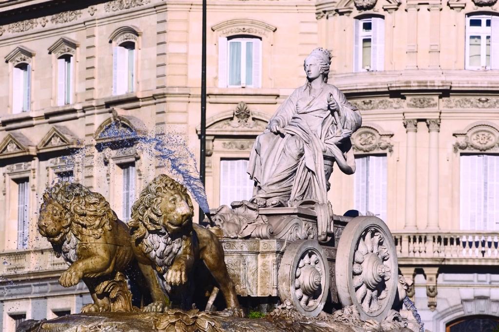 Cibeles Fountain in Madrid