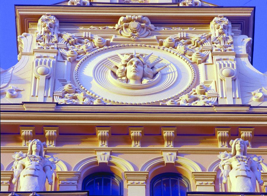 Art Nouveau building in Riga courtesy of Latvian Tourism