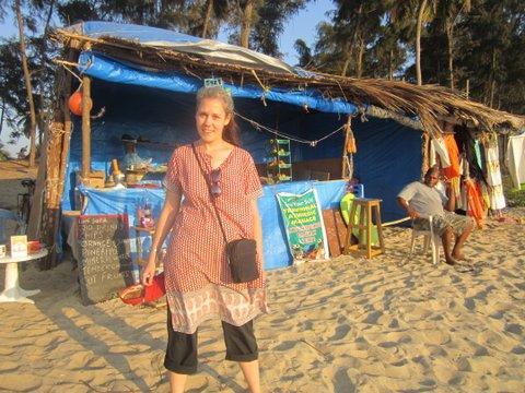 Erin in Goa