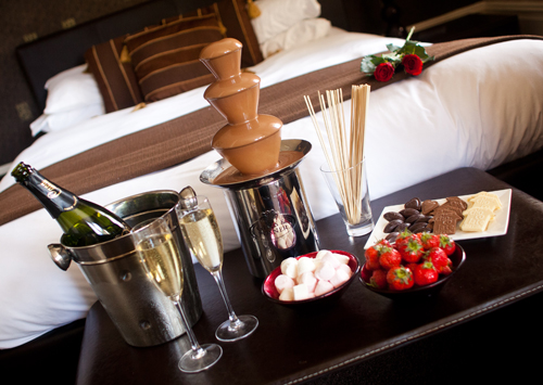 Chocolate boutique hotel