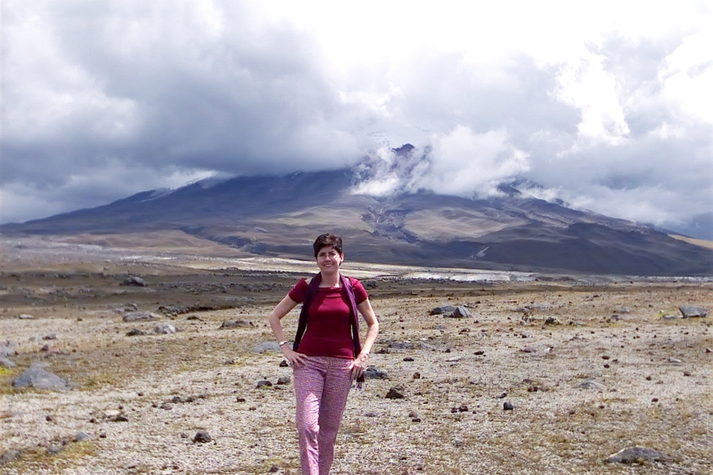 Sara Welch at Mt. Pichincha