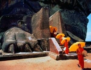 Sigiriya Monks, Sri Lanka Tourism
