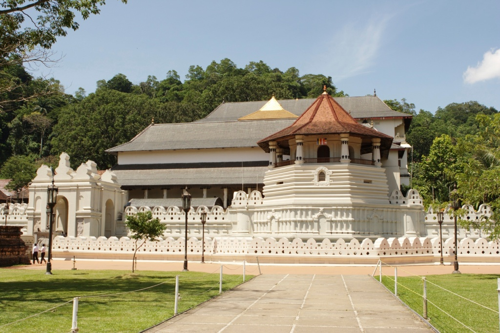 Tooth Relic Temple in Kandy