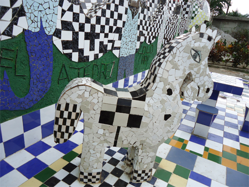 Horse in Fusterlandia by Ellen Renstrom