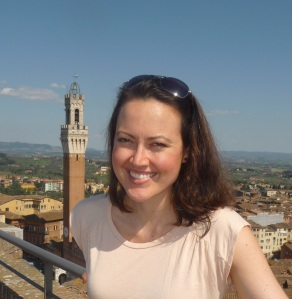 Kate in Siena