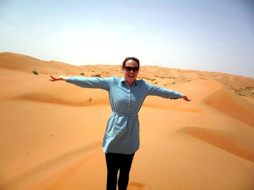 Kate in UAE