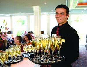 Champagne Service aboard Ama