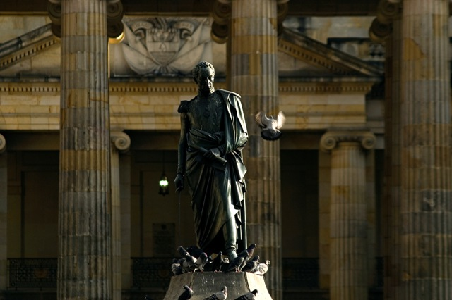 Simon Bolivar Statue in Bogota