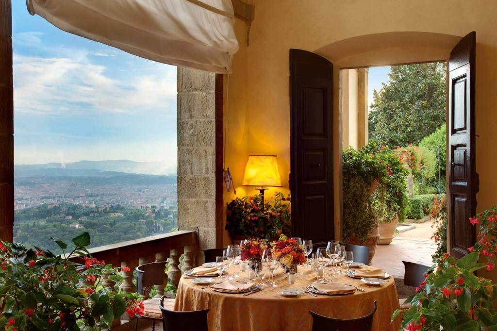 Belmond Villa San Michele restaurant