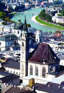Salzburg and the Danube