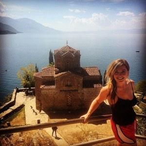 Olivia in Macedonia