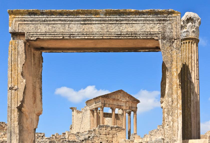 Roman Capitol Dougga
