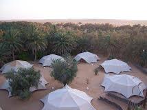 Tunisia desert camp