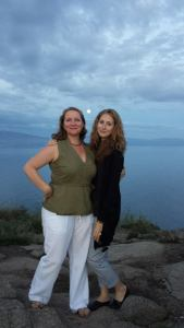 Elizabeth Kester and Ute in Spain