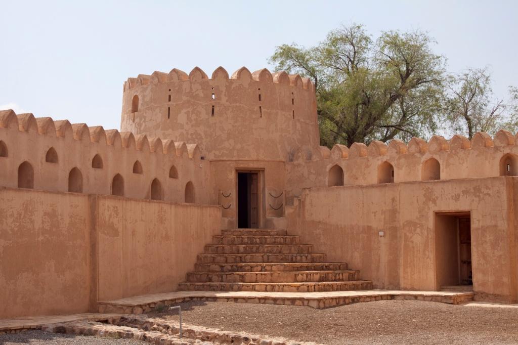 Jabreen fort Oman