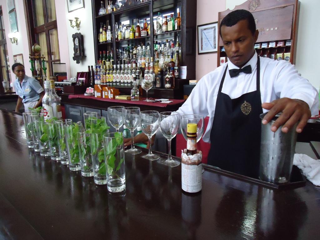Havana Nacional Mojito bar