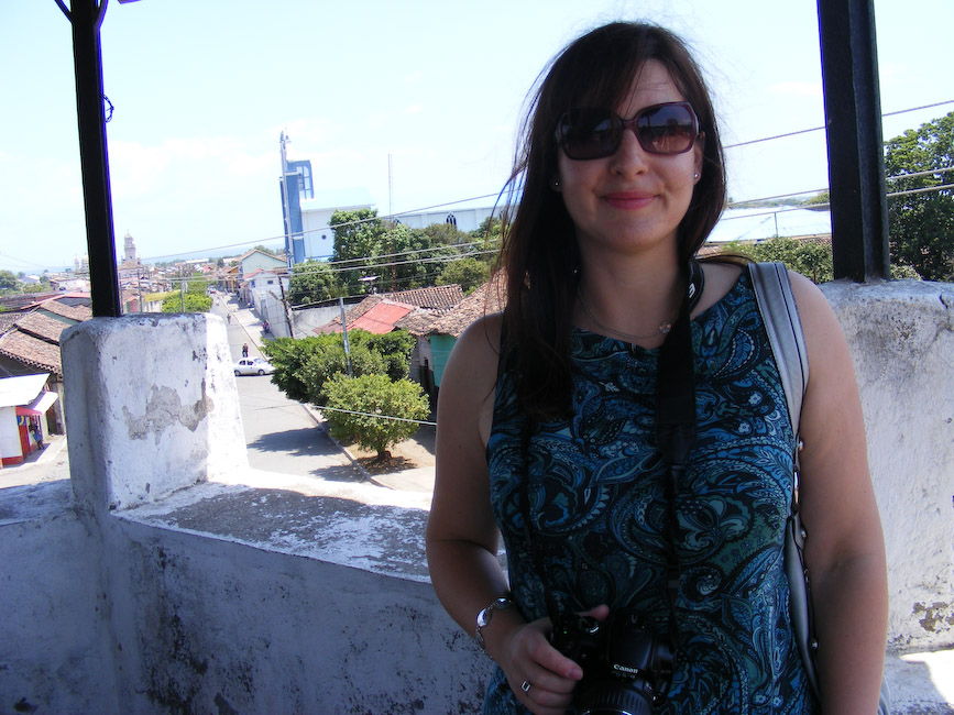 Gwen in Nicaragua