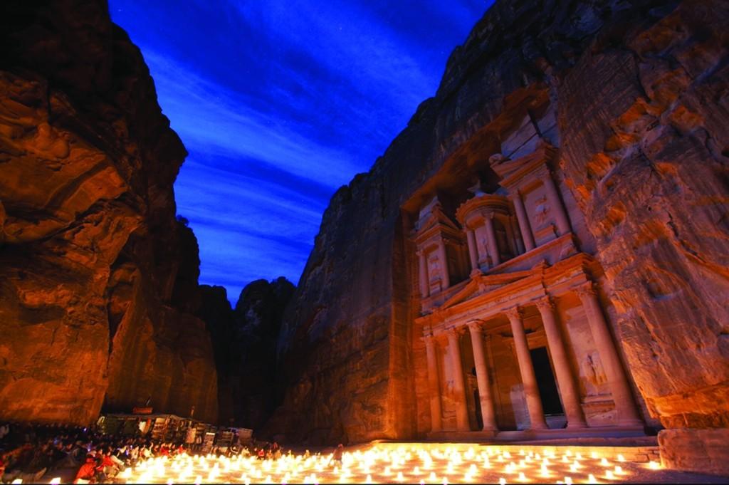 Petra candlelit ceremony