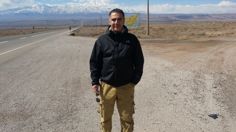tour guide Bahman Zenhari