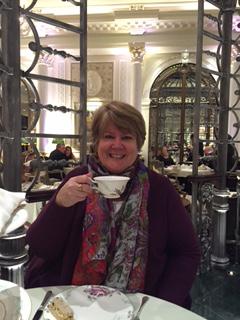 Elizabeth Viliani at Savoy Hotel in London