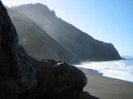 Morning on the Lost Coast, photo by Wendy Seltzer